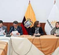 Elizabeth Cabezas confirmó que ser realizarían al menos 10 sesiones. Foto: Archivo/Asamblea