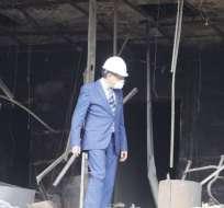 La jornada se realizó para constatar los daños ocasionados durante el paro nacional. Foto: API
