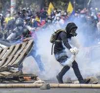 Conaie denuncia muerte de otro indígena en protestas. Foto: AFP