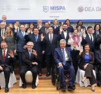 La cita es el foro político panamericano de más alto nivel sobre seguridad pública. Foto: AFP