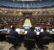 Para archivar el proyecto de ley o aprobarlo se necesitan 70 votos luego de los dos debates. Foto: Asamblea Nacional