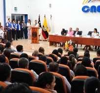 CNE también estableció que el fondo partidario se distribuirá entre 7 organizaciones políticas. Foto:CNE