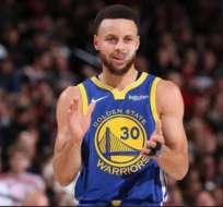 Stephen Curry, figura de los Golden State Warriors.