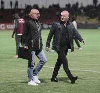 El entrenador de Liga de Quito va en busca del 'doblete' nacional. Foto: API