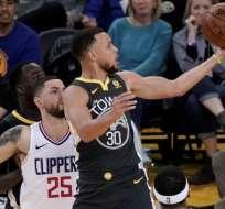 Stephen Curry, figura de Los Warriors.