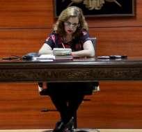 QUITO, Ecuador.- Camacho fijó para el 11 de noviembre la reinstalación de la audiencia preparatoria de juicio por este caso.