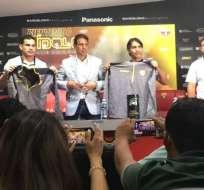 El equipo amarillo hizo el anuncio a través de una rueda de prensa. Foto: Luigi Marchelle/Ecuavisa