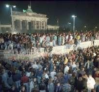 Durante 28 años, más de 1.300 personas murieron por cruzar la estructura en Alemania. Foto: Archivo AFP