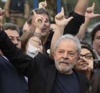 CURITIBA, Brasil.- Lula cumplía su pena desde abril de 2018. Foto: AFP