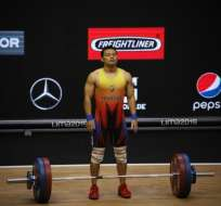 El ecuatoriano quedó en esa posición en su categoría, 61 kg. Foto: Tomada de @ECUADORolimpico
