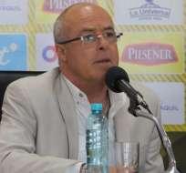 El entrenador de la selección ecuatoriana habló sobre los duelos amistosos de noviembre. Foto: Tomada de @FEFecuador