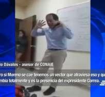Pablo Dávalos habló sobre una caída del gobierno por las medidas económicas. Foto: Captura de video