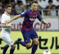 Ivan Rakitic, figura del FC Barcelona.