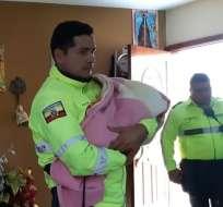 GUAYAQUIL, Ecuador.- La policía rescató en la capital azuaya al menor que había sido secuestrado en Guayaquil. Foto: API