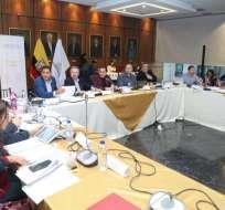 Comisión prepara segundo informe de ley económica. Foto: Asamblea Nacional Twitter