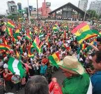 Ecuador: Las elecciones presidenciales de Bolivia carecen de legitimidad. Foto: AFP