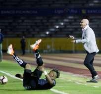 El entrenador de Liga de Quito aseguró no tener ningún problema con ceder jugadores. Foto: API