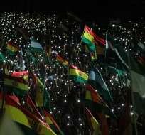 La mayoría de los 35 países de la OEA pidieron la realización lo antes posible de nuevas elecciones en Bolivia. Foto: AFP
