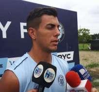 Michael Hoyos, figura de Guayaquil City.