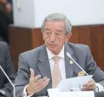 QUITO, Ecuador.- El ministro de Defensa aseguró que esta cartera de Estado preveía lo sucedido en octubre. Foto: Asamblea