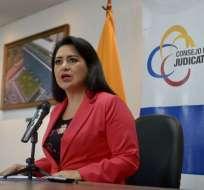 La Judicatura, presidida por María del Carmen Maldonado (foto), dio a conocer la lista de magistrados aprobados. Foto: API