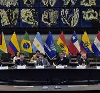 El organismo fue creado en 2008 y lo conformaban doce países. Foto Archivo: AFP