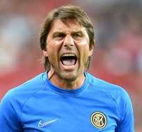 Antonio Conte, entrenador italiano.