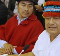 Fiscalía inicia investigación contra dirigentes indígenas. Foto: API