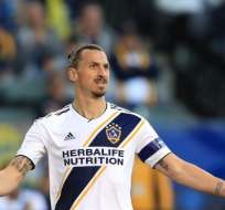 Zlatan Ibrahimovic, goleador sueco. FOTO: AFP