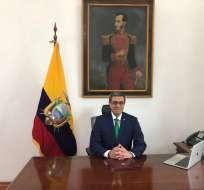 Agusto es guayaquileño e ingeniero civil de profesión. Foto: Ministerio de Energía