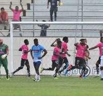 Independiente Juniors celebra un gol en la Serie B. Foto: API.
