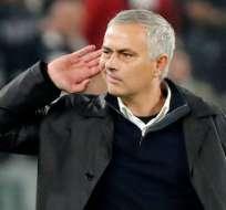 José Mourinho, entrenador portugués.