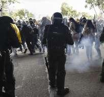 """En Colombia se desarrolla un """"paro nacional"""" contra los lineamientos políticos del gobierno. Foto: AFP"""