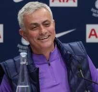 José Mourinho, DT del Tottenham. FOTO: @SpursOfficial