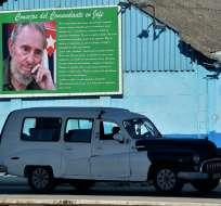 Cuba, tres años sin Fidel. Foto: AFP