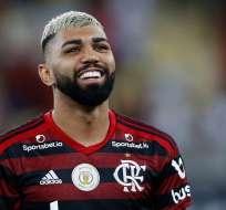 Gabigol, figura del Flamengo.