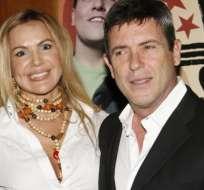 """Carlos Mata y Jeannette Rodríguez protagonizaron """"Cristal"""", serie que batió récords de audiencia."""