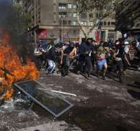 Las protestas en el país sudamericano cumplen 6 semanas. Foto: CLAUDIO REYES / AFP