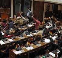 Congreso bicameral aprobó reglamento para la designación de los miembros del nuevo órgano electoral. Foto: AFP