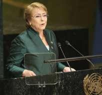 Bachelet insta al diálogo en Ecuador y pide más inclusión. Foto: AP - Archivo