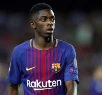 Ousmane Dembélé, jugador del Barcelona. FOTO: AFP