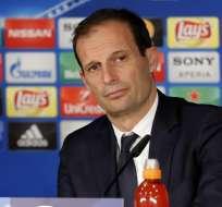 Massimiliano Allegri, entrenador italiano.