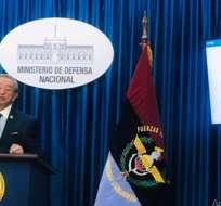 Ministro de Defensa cuestiona informe de la ONU sobre protestas. Foto: Defensa Ecuador