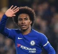 Willian, figura del Chelsea.