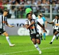 Cazares está a 1 gol de convertirse en el máximo goleador extranjero del Atlético Mineiro. Foto: Archivo
