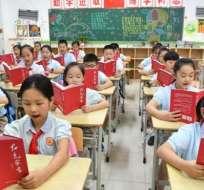 China desplazó a Singapur como el país con la mejor educación del mundo.