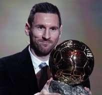 Lionel Messi volvió a ganar el Balón de Oro 4 años después.