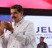 El presidente de Venezuela respondió al Tratado internacional. Foto: EFE