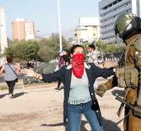 Las protestas en Chile cumplen 7 semanas y han dejado 23 muertos. Foto: EFE