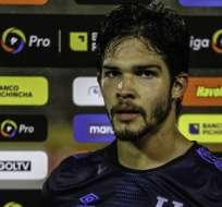 Luis Amarilla, delantero de Universidad Católica.